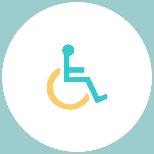 logo menant à la page des articles sur le handicap