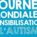 journée mondiale de sensibilisation à l'autisme le 2 avril
